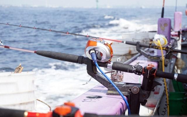 船釣りの道具