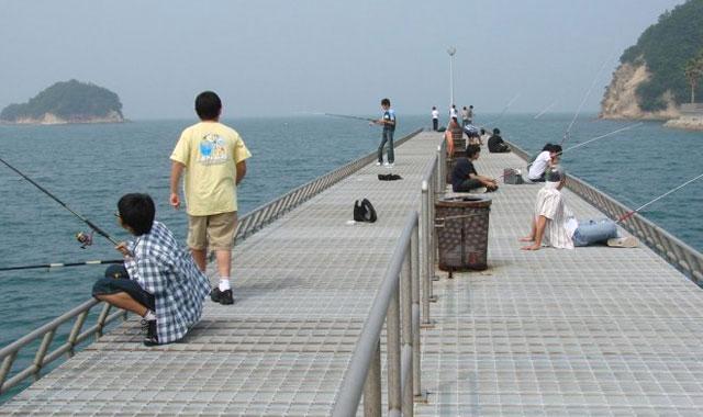 小豆島ふるさと村釣り桟橋
