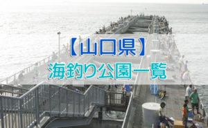 山口県の海釣り公園