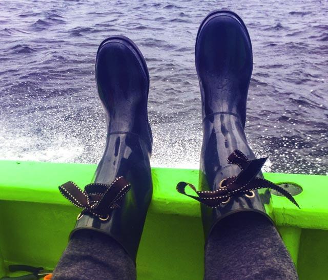 船釣り用の長靴