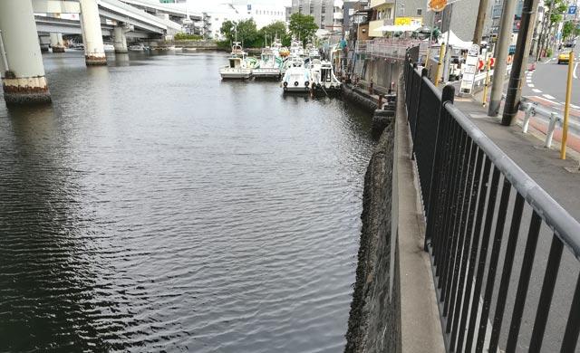 中村川のハゼ釣りポイント
