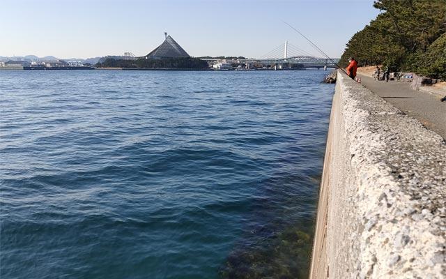 八景島対岸の様子
