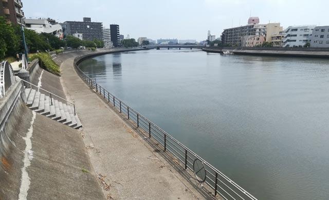 鶴見川のハゼ釣り