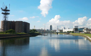 神奈川のハゼ釣り場 鶴見川