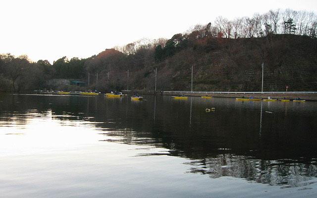 鮎川湖のワカサギ釣り