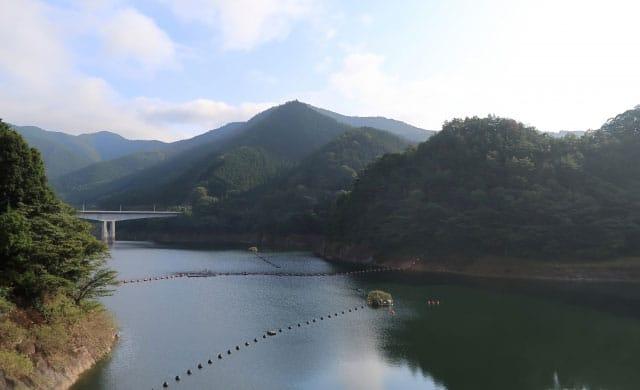 梅田湖のワカサギ釣り
