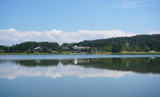 霊仙寺湖のワカサギ釣り