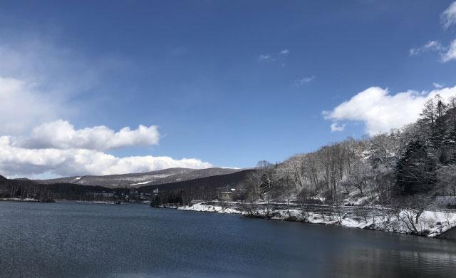 白樺湖のワカサギ釣り