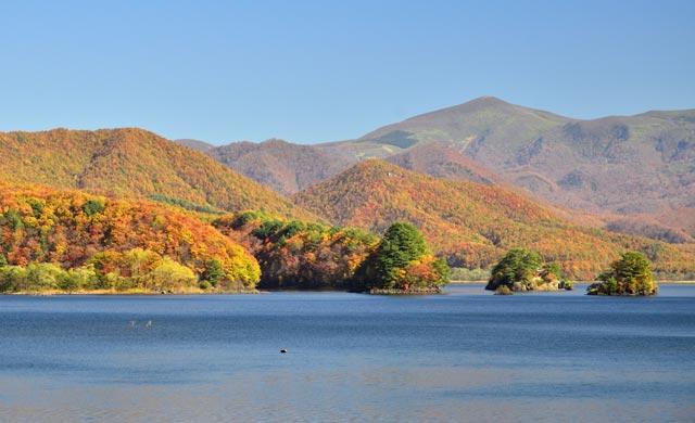 秋元湖のワカサギ釣り