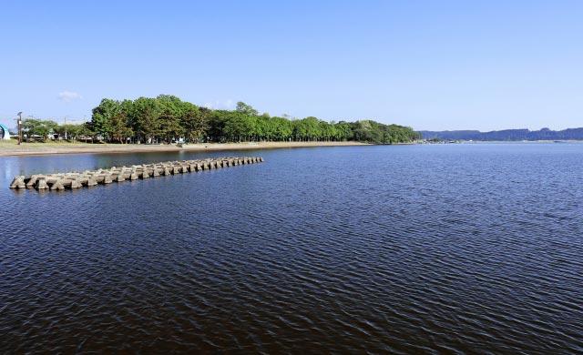 小川原湖のワカサギ釣り